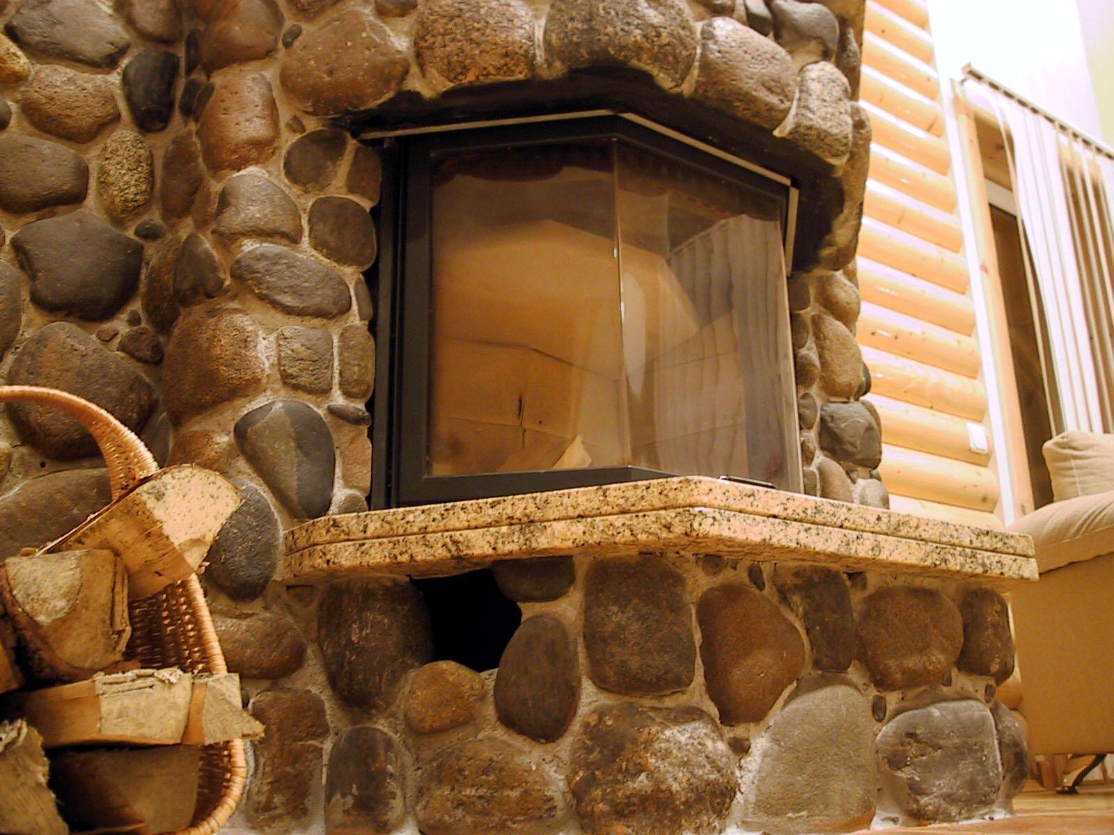Как построить дом из камня своими